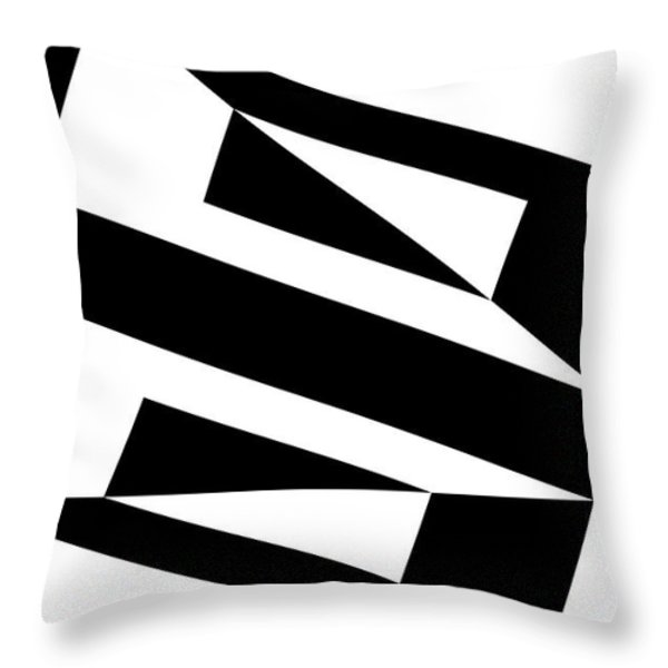 Red Ball 15 Throw Pillow by Mike McGlothlen