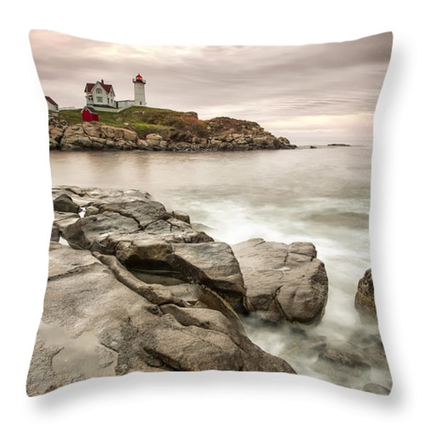 Red Light Throw Pillow by Jon Glaser