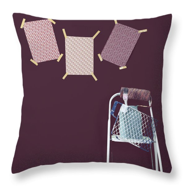 redecoration Throw Pillow by Joana Kruse