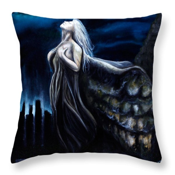 Redemption Throw Pillow by James Kruse