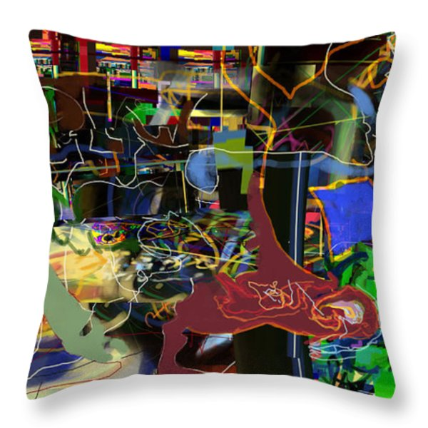 Redemption Prayer 14m Throw Pillow by David Baruch Wolk
