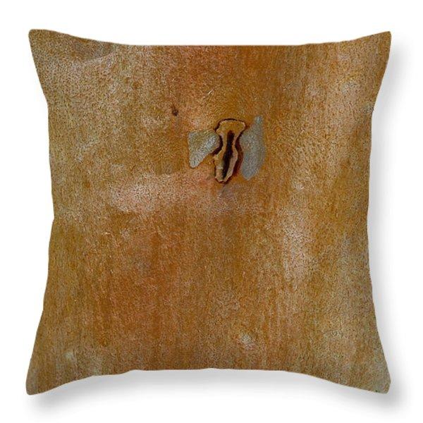 Redgum Tree Throw Pillow by Steven Ralser