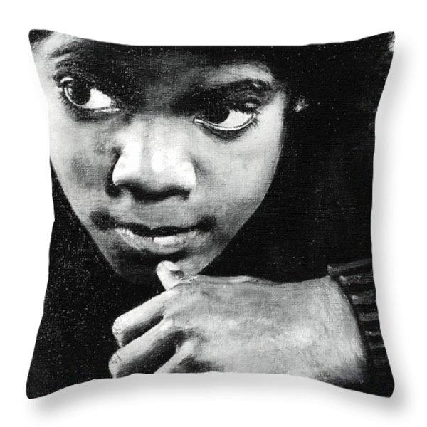 Reflective Mood  Throw Pillow by Cassandra Allsworth