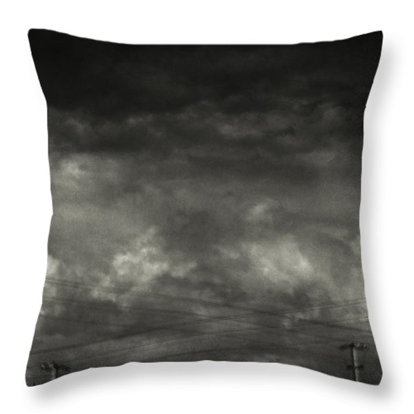 Refraction Throw Pillow by Taylan Soyturk