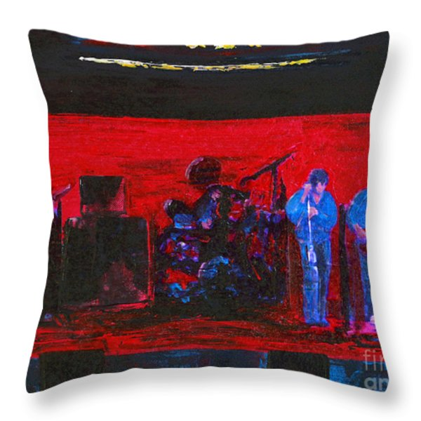 Rehearsal Throw Pillow by Alys Caviness-Gober