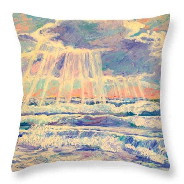 Rehoboth Light Throw Pillow by Kendall Kessler