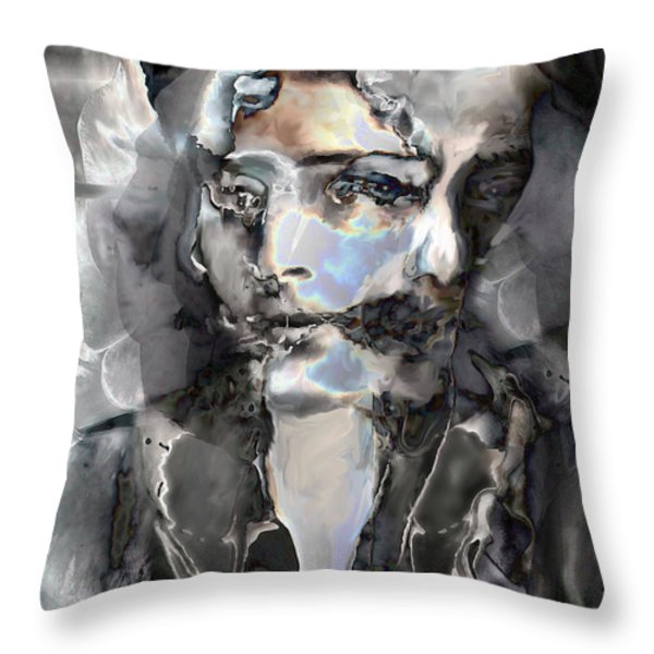 Reincarnation Throw Pillow by Ursula Freer