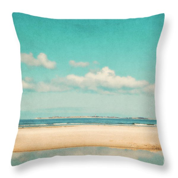 Relax Throw Pillow by Angela Doelling AD DESIGN Photo and PhotoArt