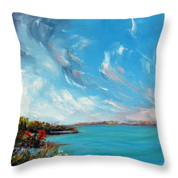 Relentless Grace Throw Pillow by Meaghan Troup