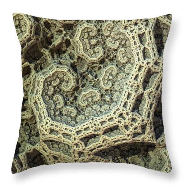 Relic Throw Pillow by Kevin Trow