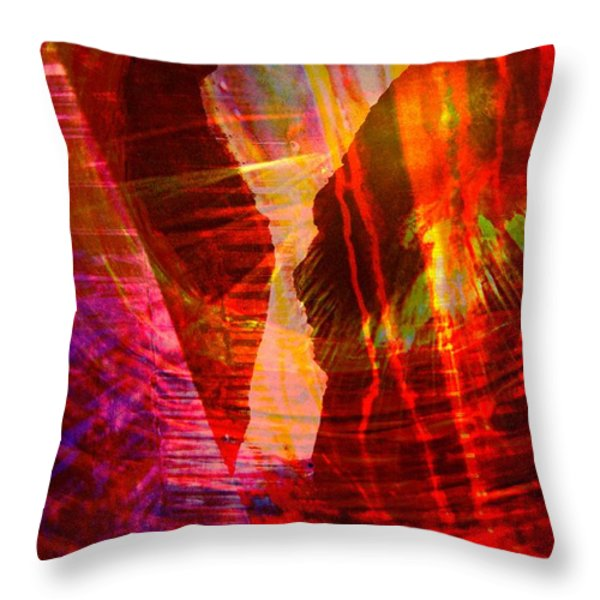 Remembering Throw Pillow by Shirley Sirois