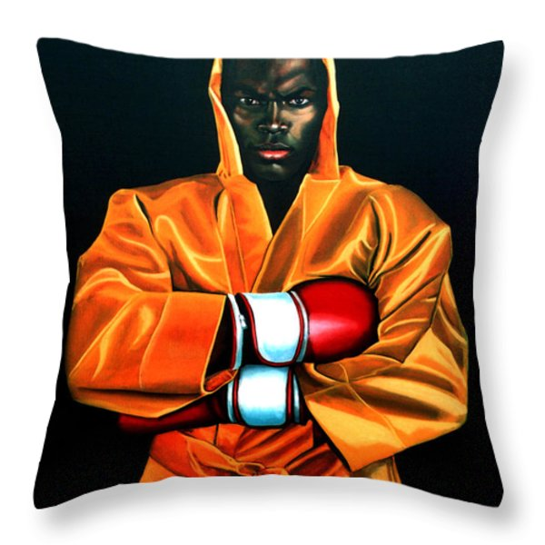 Remy Bonjasky Throw Pillow by Paul  Meijering