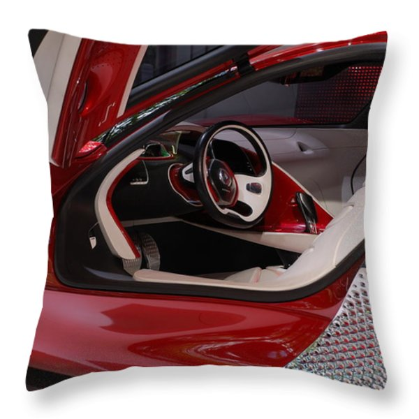 Renault DEZIR Throw Pillow by Dany  Lison