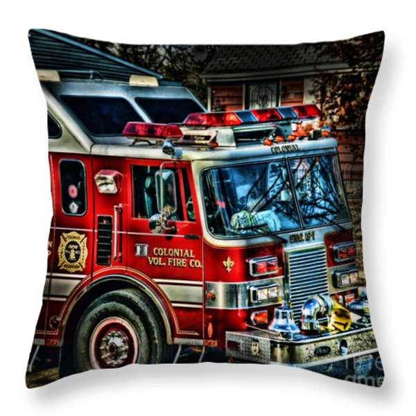 Responding Throw Pillow by Arnie Goldstein