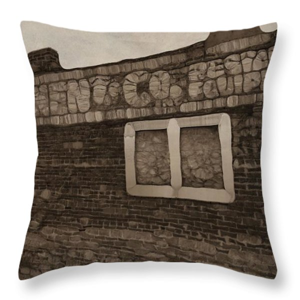 Restaurant Equipment Abstract Throw Pillow by Dan Sproul