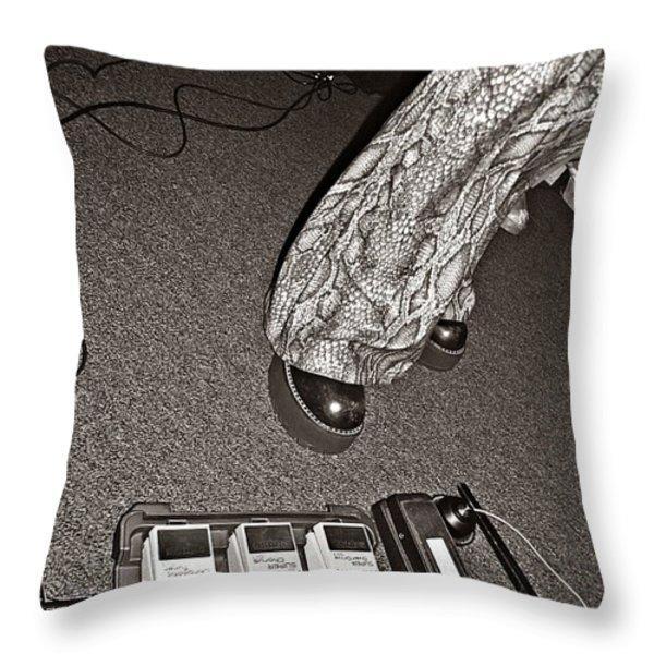 Retro Night Throw Pillow by Chris Berry