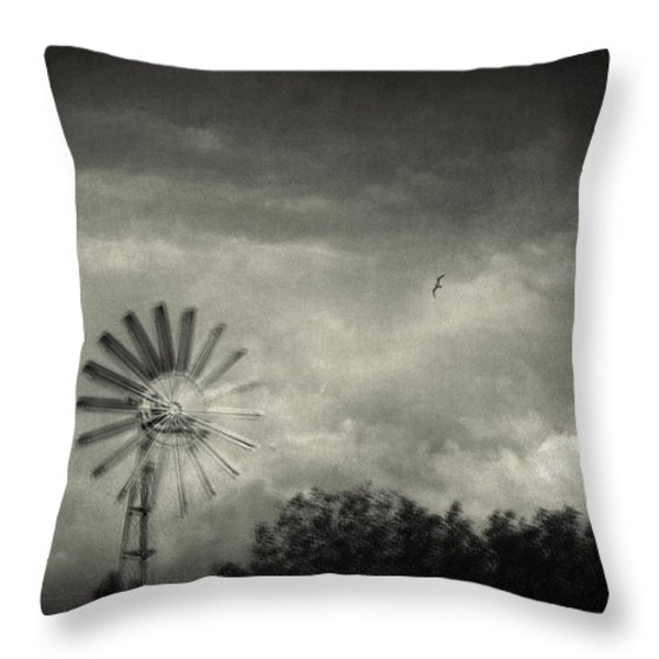 Return Throw Pillow by Taylan Soyturk
