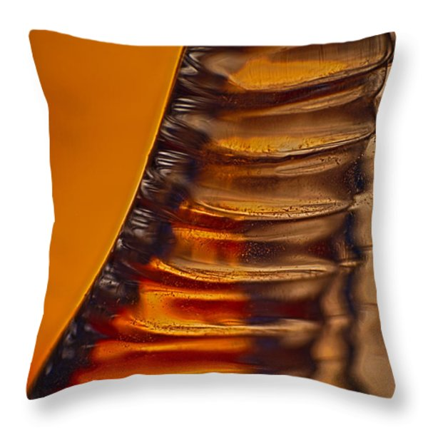 Ridges Throw Pillow by Omaste Witkowski