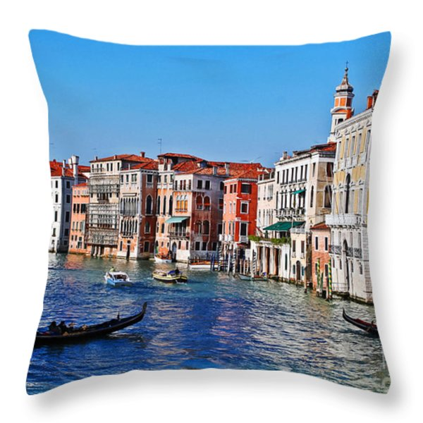 Right of Way Throw Pillow by Elvis Vaughn