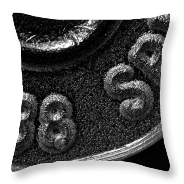 Rim and Primer 38 Special Throw Pillow by Bob Orsillo
