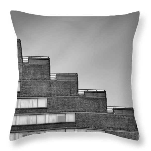 Rise To The Challenge Throw Pillow by Evelina Kremsdorf