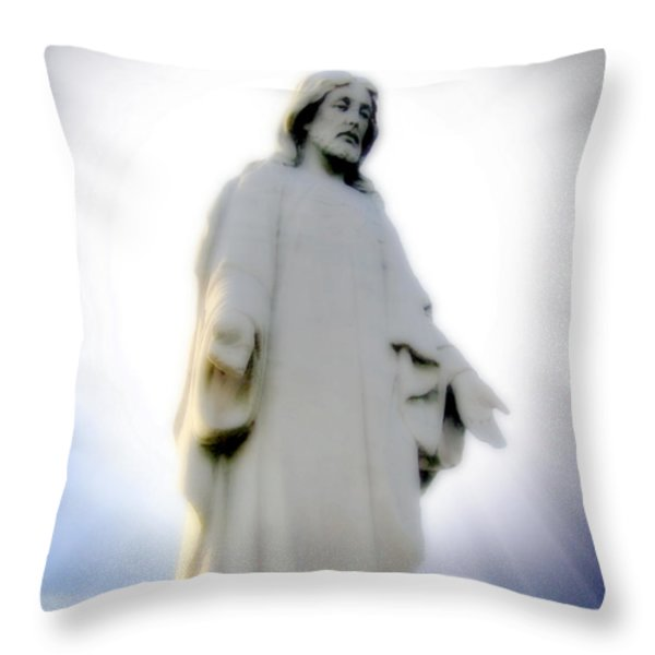 Risen Throw Pillow by Brian Wallace