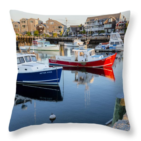 Risky Business After Five Throw Pillow by Susan Candelario