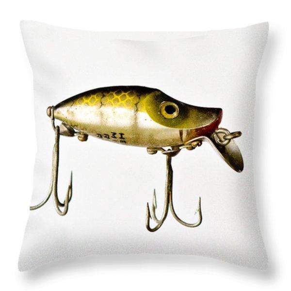 River Runt Throw Pillow by Scott Pellegrin