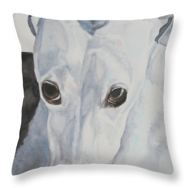 Riveted Throw Pillow by Susan Herber