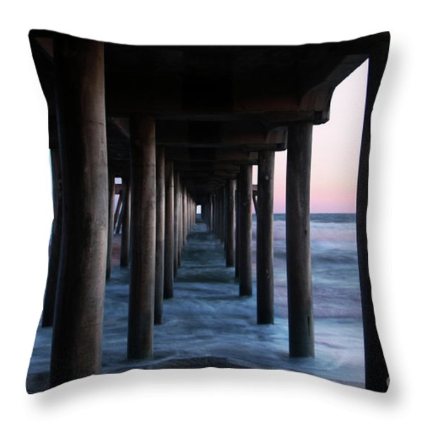 Road to Heaven Throw Pillow by Mariola Bitner