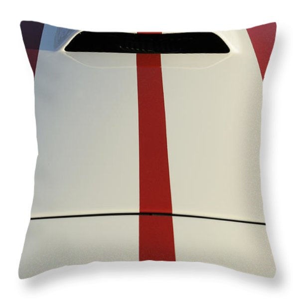 Roadster Throw Pillow by Luke Moore