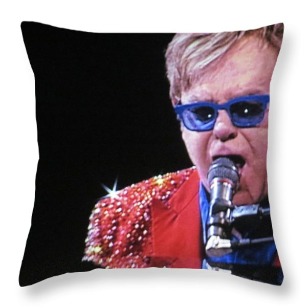 Rocket Man Throw Pillow by Aaron Martens