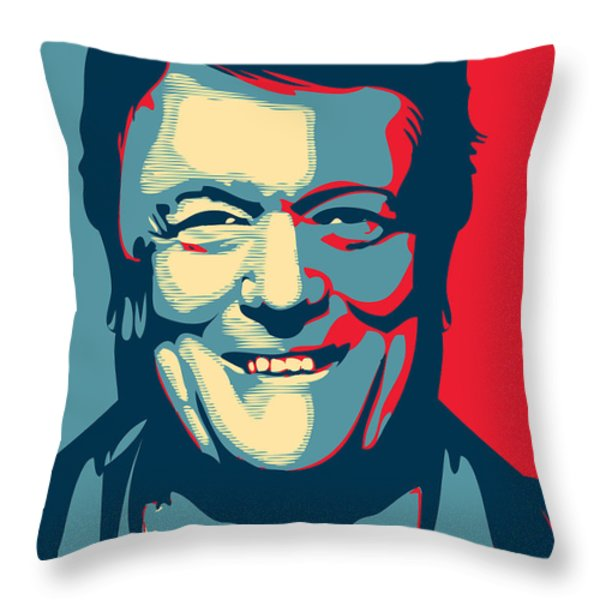 Rod Smallwood Throw Pillow by Unknow
