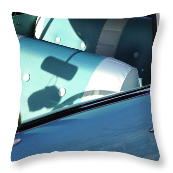 Roll Those Dice Throw Pillow by Luke Moore