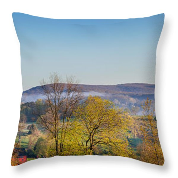 Rolling Hills Throw Pillow by Bill  Wakeley