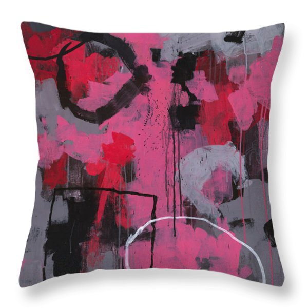Rolling the Big Wheel Throw Pillow by Douglas Simonson