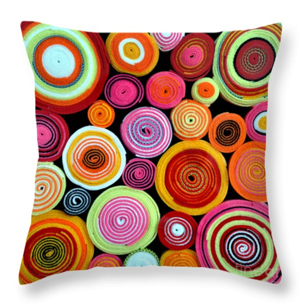 Rolls Throw Pillow by Delphimages Photo Creations