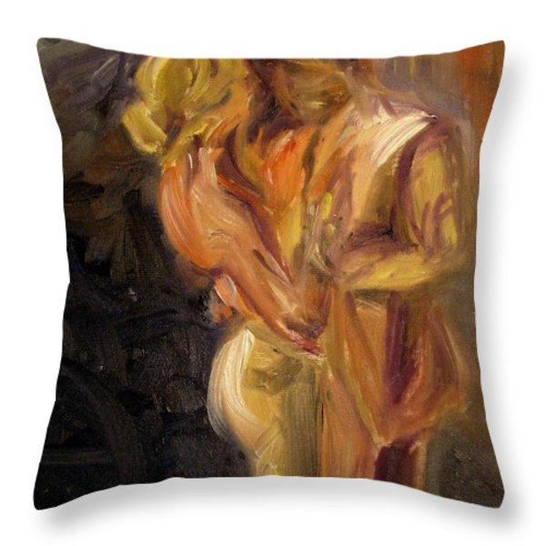 Romance Throw Pillow by Donna Tuten