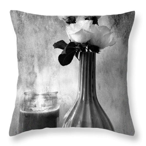 Romantic Light Throw Pillow by Betty LaRue