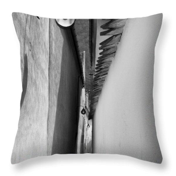 Rope Street-brasov-romania Throw Pillow by Dorin Stef