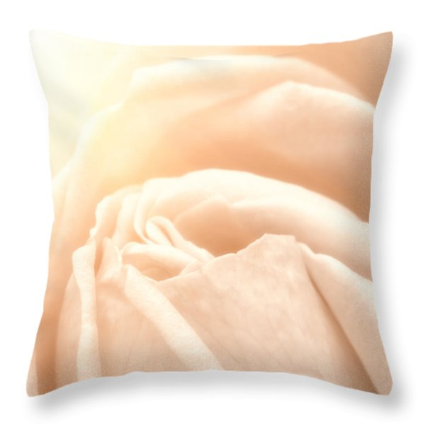 Softness Throw Pillow by Wim Lanclus