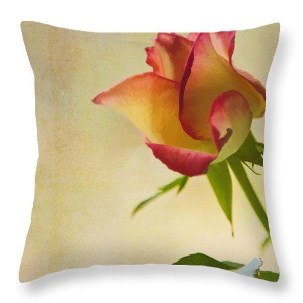 Rose Throw Pillow by Veikko Suikkanen