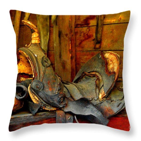 Rough Ride Throw Pillow by Lauren Hunter