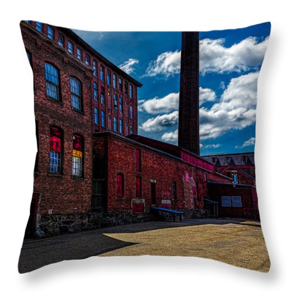 Roy Hill Roy Continental Mill Throw Pillow by Bob Orsillo