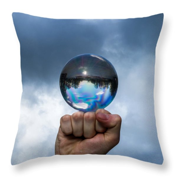 Rule The World - Featured 3 Throw Pillow by Alexander Senin