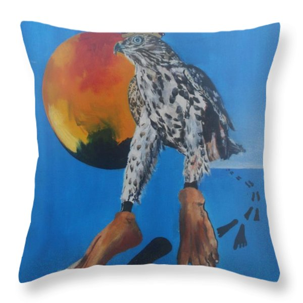 RULERS Throw Pillow by PainterArtist FIN