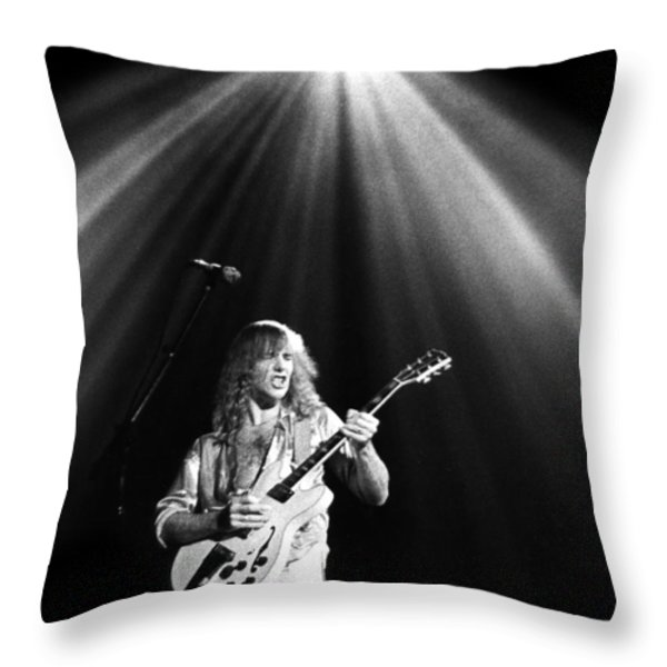 Rush Throw Pillow by Sue Arber