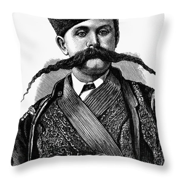 Russia: Military Orderly Throw Pillow by Granger
