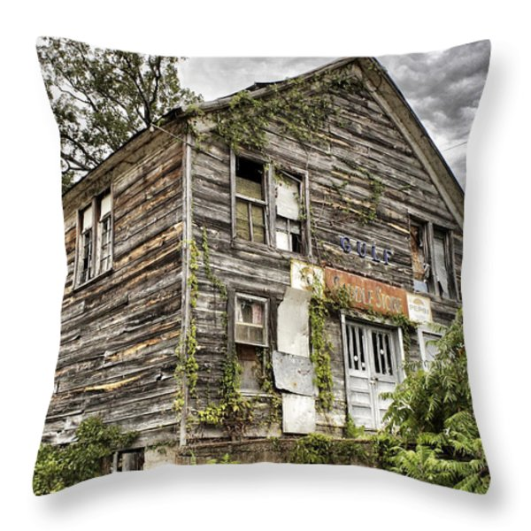 Saddle Store 1 Of 3 Throw Pillow by Jason Politte