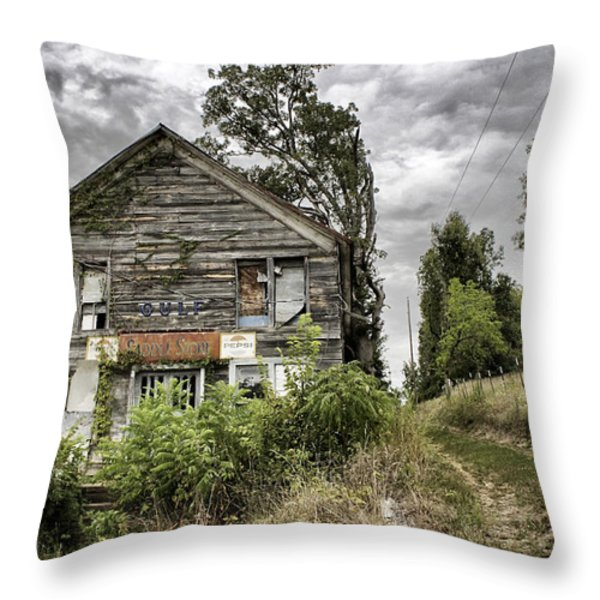 Saddle Store 3 of 3 Throw Pillow by Jason Politte